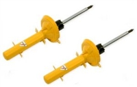 8710 1337Sport KONI Yellow Adjustable Shocks, Front Mk4
