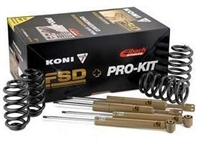 2150-4001-1 KONI FSD Shocks with Eibach Pro-Kit Springs, Mk5