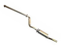 "TT 2.25"" Cat Back Exhaust 1985up Golf (45mm Non GTI)"