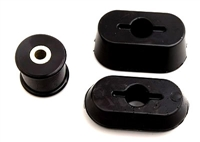 Polyurethane Dogbone Bushings (Black), Mk4