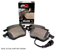 D1492D Front, PBR Deluxe Brake Pads, Mk4 1.8T/VR6