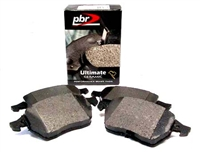 D1865C Rear, PBR Ultimate Ceramic Brake Pads, Mk5