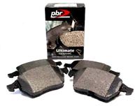 D1865C Rear, PBR Ultimate Ceramic Brake Pads, Mk5