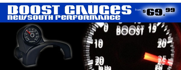 New South Performance Boost Gauges