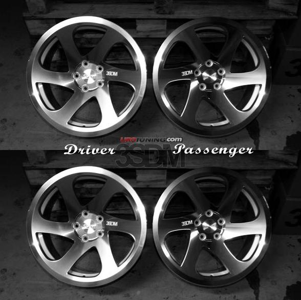 3sdm 06 100 18 S 3sdm 0 06 Wheel 18 Quot 5x100 Silver
