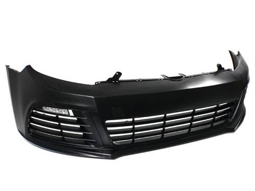 BP-VWG6-R20Z Golf R Front Bumper Kit with LEDs Mk6 Golf   GTi