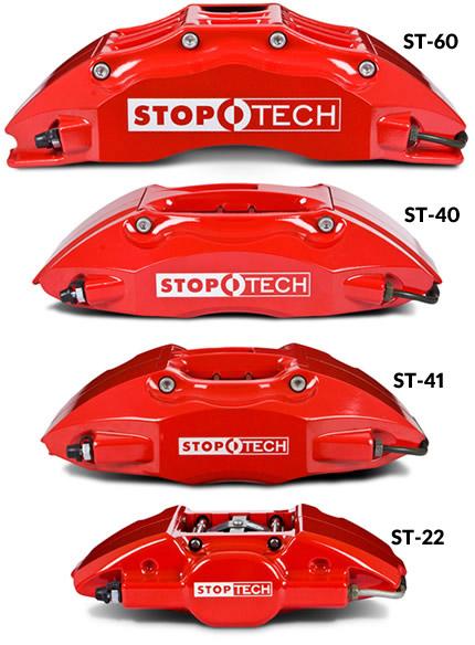 Stoptech 355mm St 40 Front Big Brake Kit For Vw Mk5 Mk6