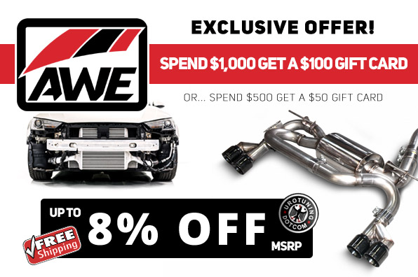 AWE Tuning Special Offer