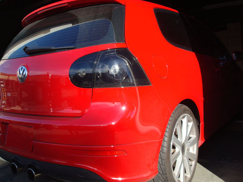 hvwgtl bs black smoked taillights mk golf rabbit gti