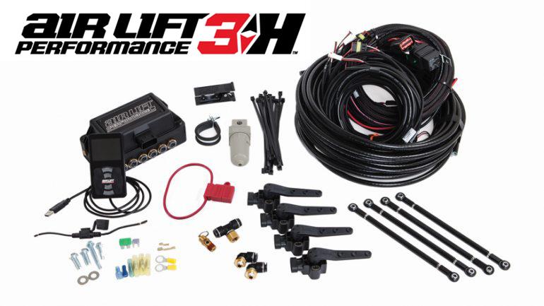 Air Lift Kit w/ Performance 3H Digital Controls   BMW E36