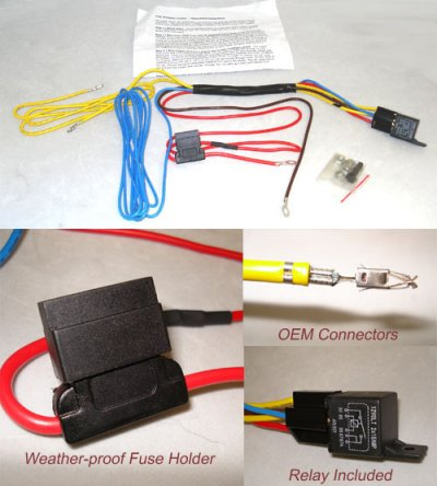 Wiring Kit | Fog Light Harness for Mk4 cars without factory fogs on vw bus wiring harness, vw beetle wiring harness, vw wiring connectors, vw thing wiring harness, vw wiring diagrams, universal fog light kits, radio control sailboat kits, vw thing lift kit, vw cc fog light harness, vw dune buggy wiring harness, vw wire harness, vw bug wiring,