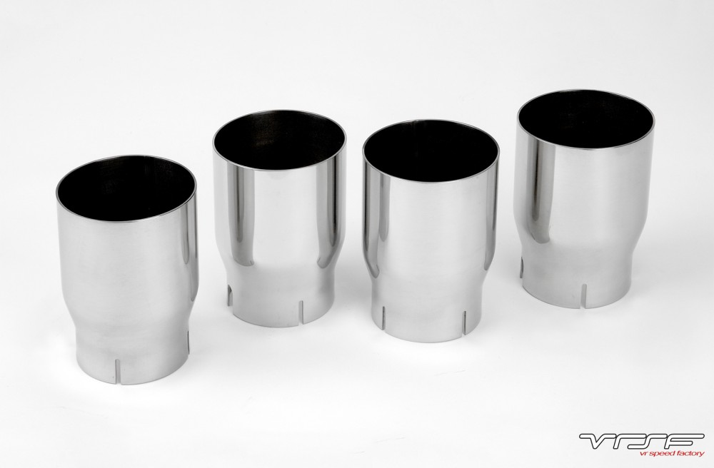 VRSF 90mm Stainless Steel Exhaust Tips 14+ F80 | F82 BMW M3 & M4